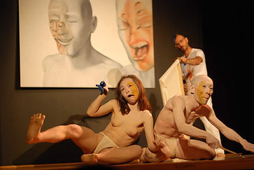 chris avella bagur show in theatre - Zatsu and Watanabe