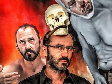 Face FS1789  christophe avella bagur selfportrait