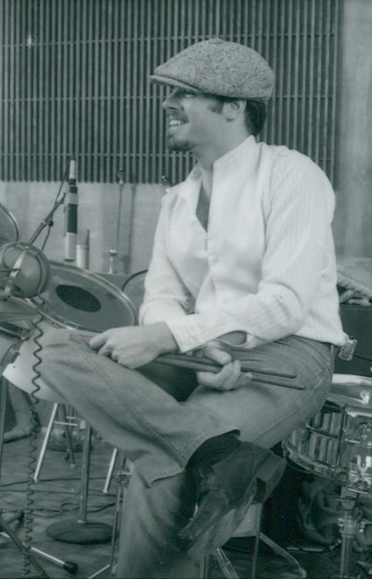 Peter at Studio Center