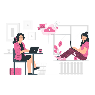 Working remotely - pana - F06F9F.png