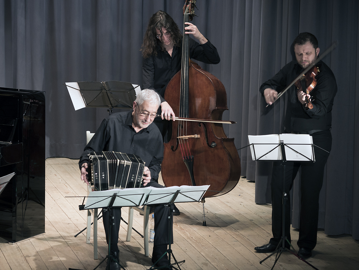 with Juan José Mosalini, 2015
