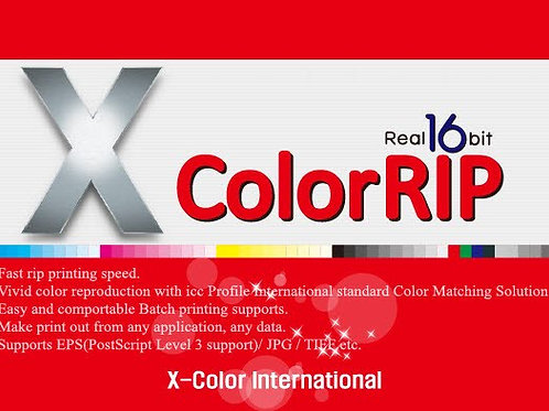 XcolorRIP for Epson1390/L1800 Roll