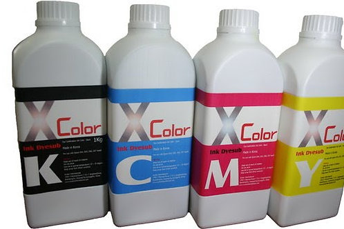 XcolorInk DYESUB 4Color Set