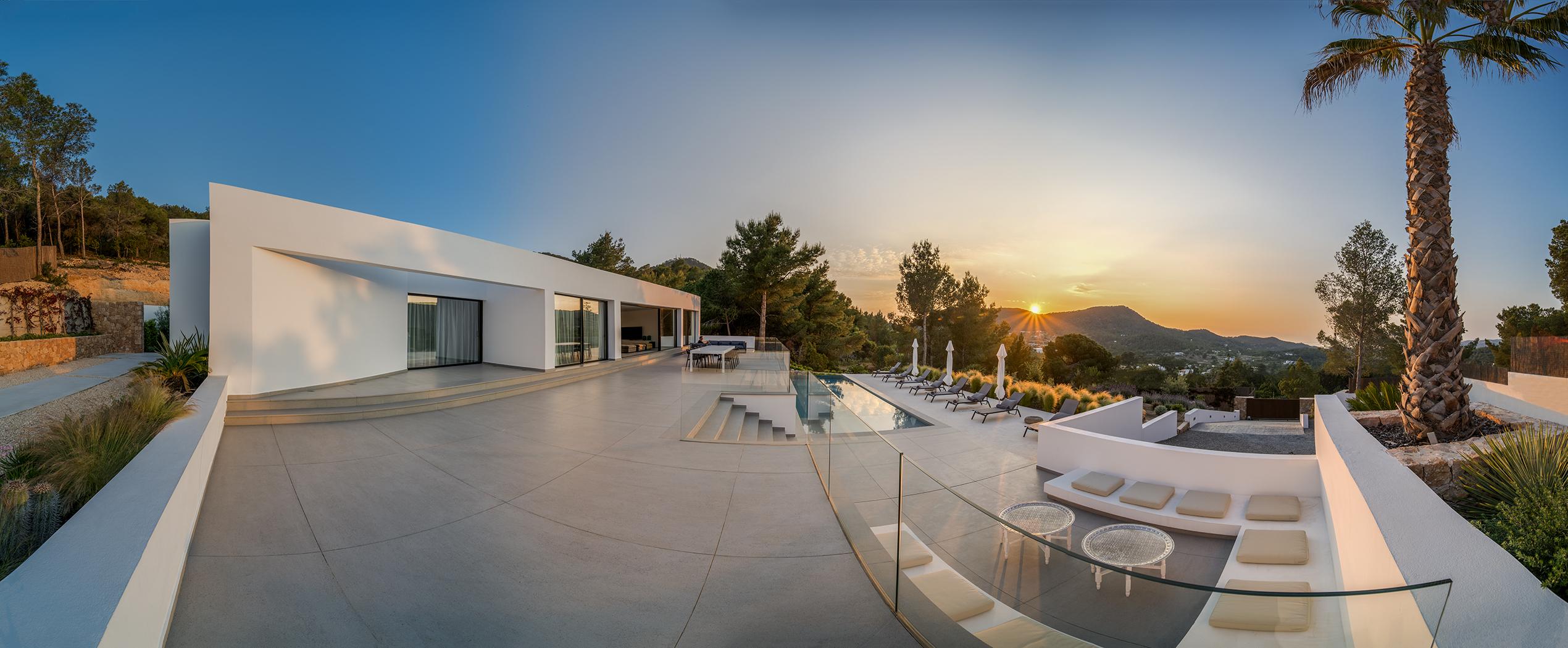 panorama - Terrace left sunset 1