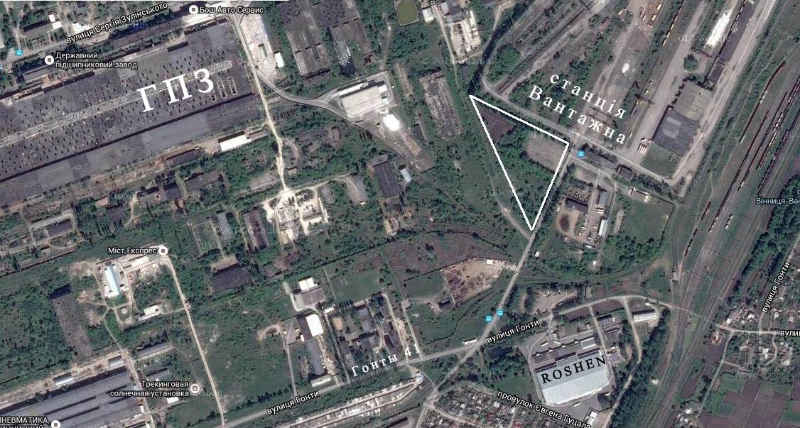 продам ділянку у Вінниці під бізнес