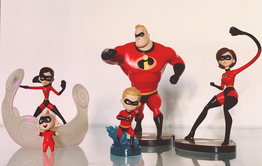 'The Incredibles' superhero family