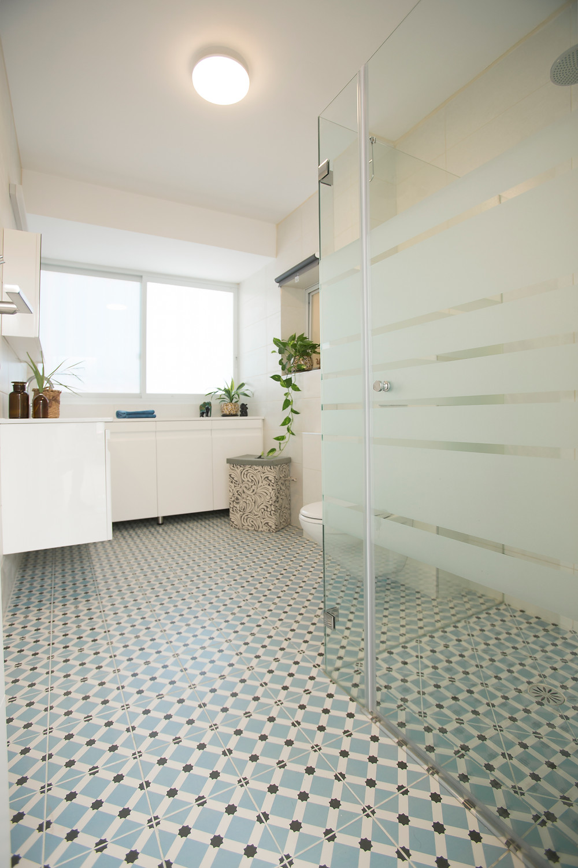 חדר אמבטיה מעצבת רויטל רודצקי