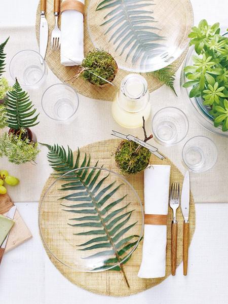 עיצוב שולחן חג