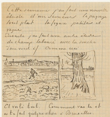 Van Gogh's letter to Theo, 28 October 1888