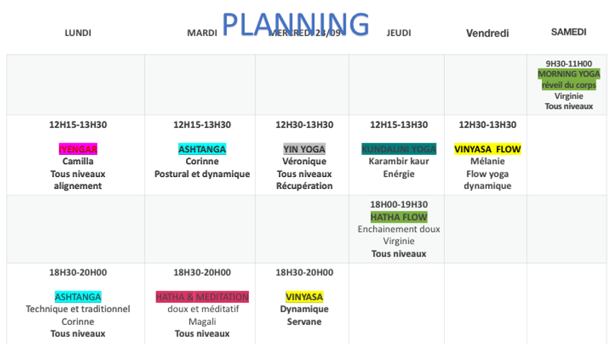planning LIVE ET STUDIO SEPTEMBRE 2020.p
