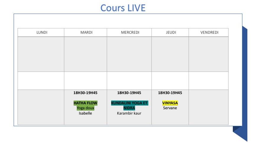 planning LIVE ET STUDIO SEPTEMBRE 2020.j