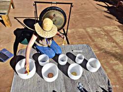 Gong y Cuencos de Cuarzo 432hz