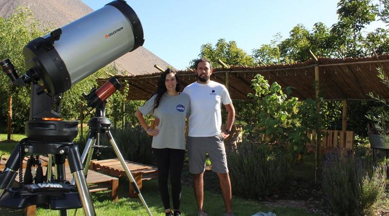 Sophie Souyet e Ivan Olivares propietarios de Amatista Travels