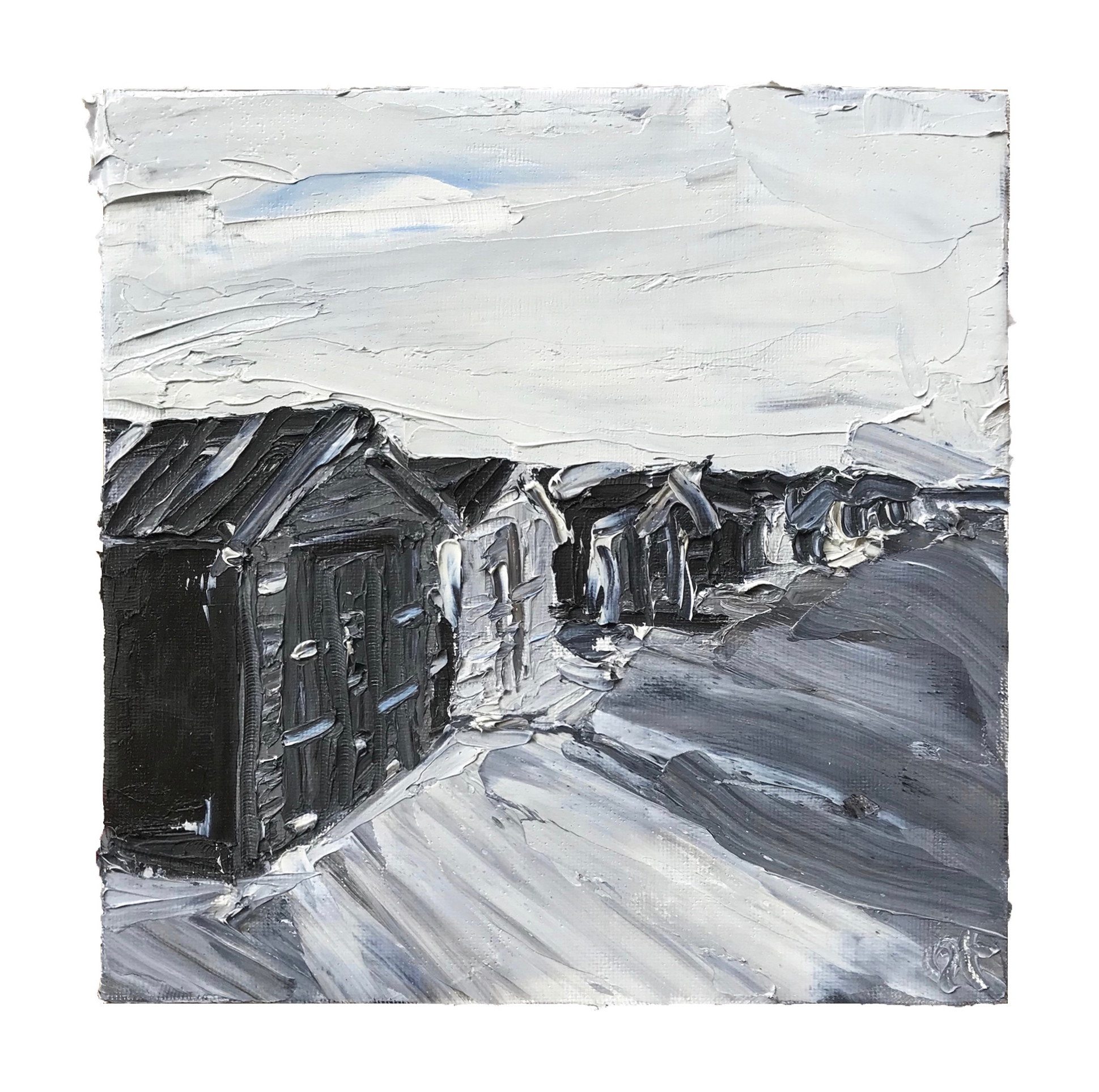 Wittering Beach Huts - sold