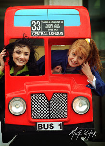 Martine McCutcheon and Patsy Palmer