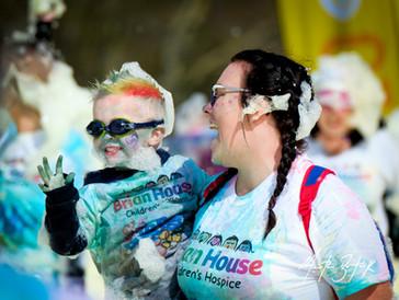 Trinity Hospice 'Bubble Rush'. Copyright Martin Bostock Photography.