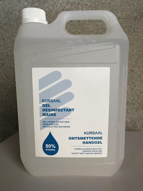 Gel hydroalcoolique 80% - 5L