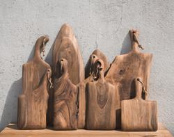 Tábuas em Nogueira | Walnut cutting boards