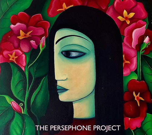 The Persephone Project Front cover- medi