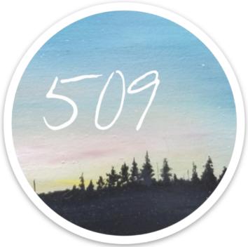 509 Sunset Sticker