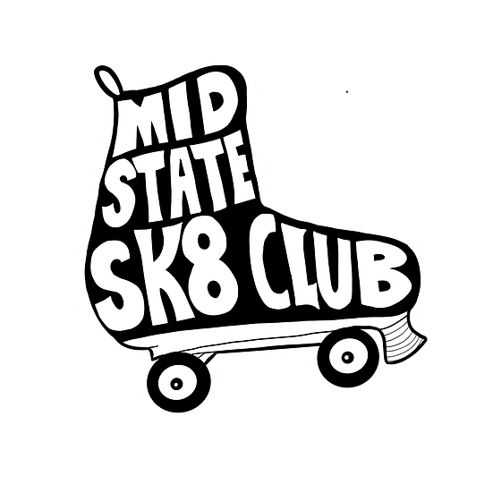 Mid State Skate Club sticker