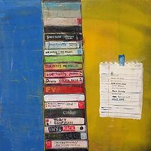 Road Trip, acylic on canvas, 24_ x 24_