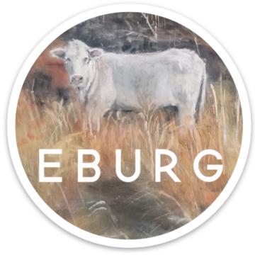 Eburg Cow Sticker
