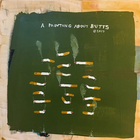 A Painting About Butts