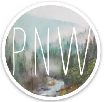 """3"""" PNW Sticker"""