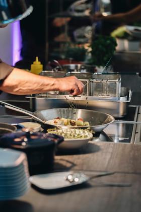 Foto: © Leander Brandstädt - Live Cooking - Bauhaus Museum