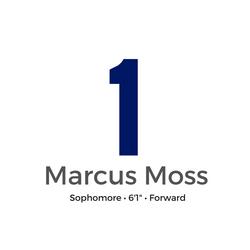1 - MARCUS MOSS