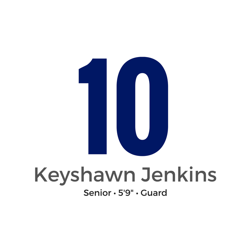 10 - KEYSHAWN JENKINS