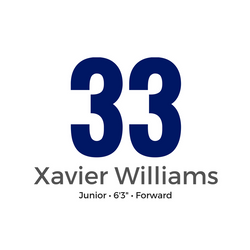 33 - XAVIER WILLIAMS