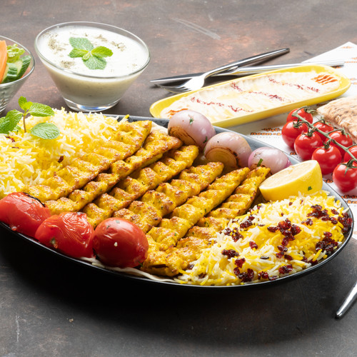 Half Kg Chicken Kubideh Platter