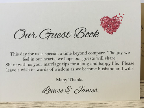 photo guest book sign