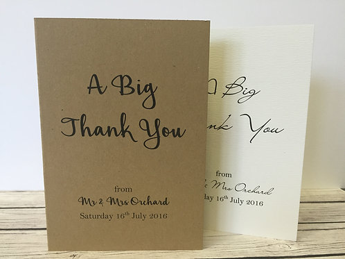 copy of Thank You Cards