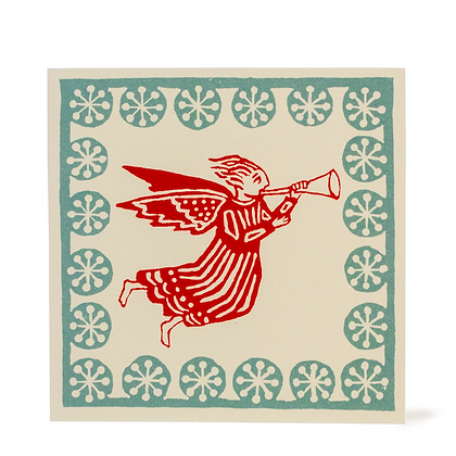 Angel Print Christmas Cards - Pack of 10