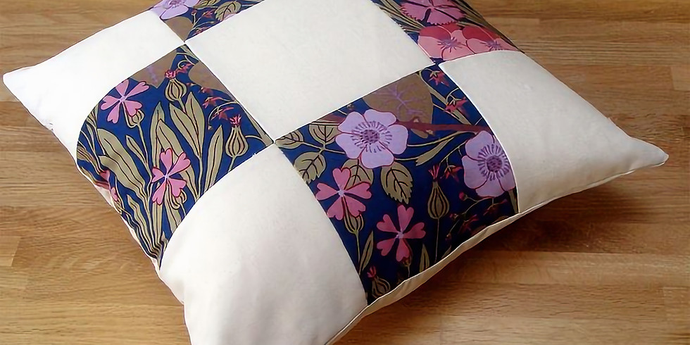 Patchwork Cushion Making with Sarah Baulch