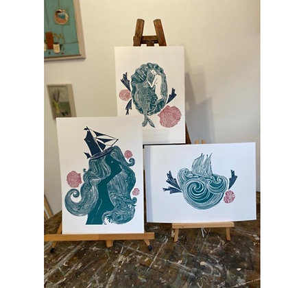 Mermaids - 3 Print Collection