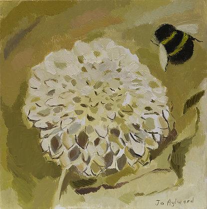 Dahlia and Bee by Jo Aylward
