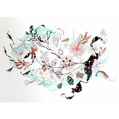 """""""Botany Bay"""" Screen Print by Julia McKenzie"""