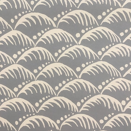 Gift Wrap - Wave Storm Grey