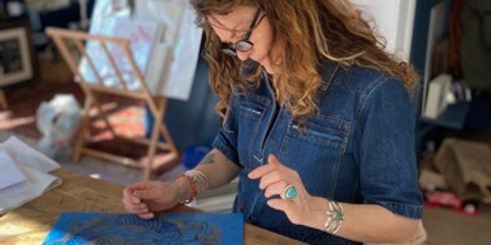 Linocutting Workshop with Jo Oakley
