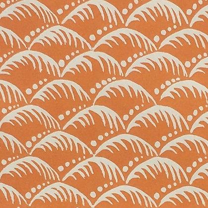 Gift Wrap - Wave Storm Orange