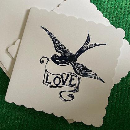Love Card by Jo Oakley