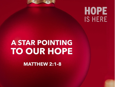 A Star Pointing to Our Hope