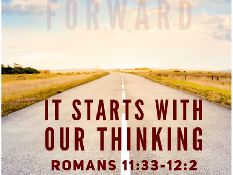 It Starts with Our Thinking