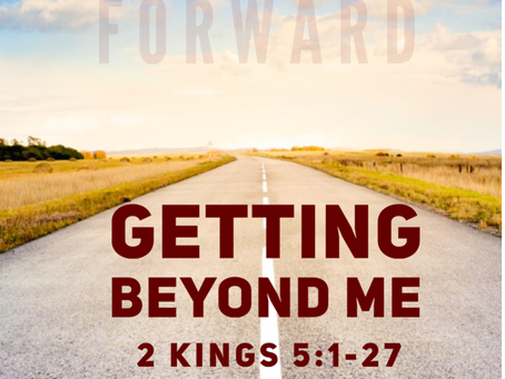 Getting Beyond Me