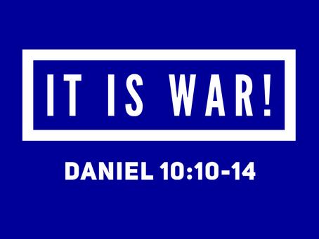 It is War!