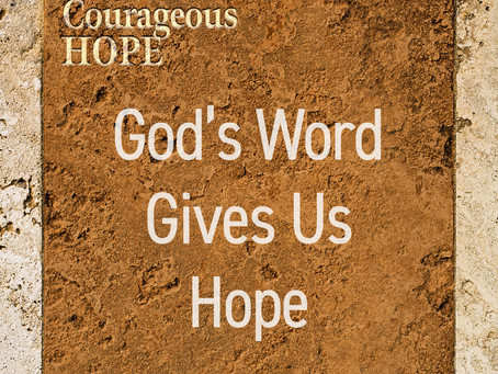 God's Word Gives Us Hope